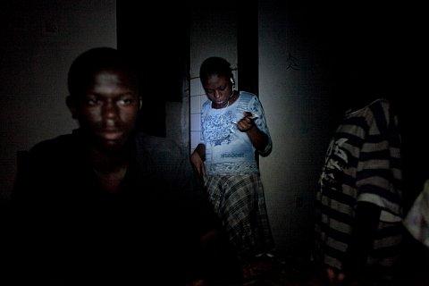 Dancing in Kin. Kinshasa.