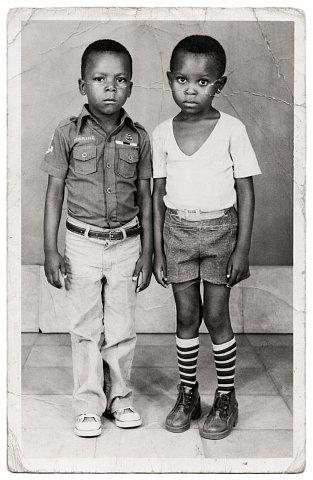 Photograph by Lema Mpeve Mervil of Studio Photo Less. Kinshasa, D.R.C., c. 1985.