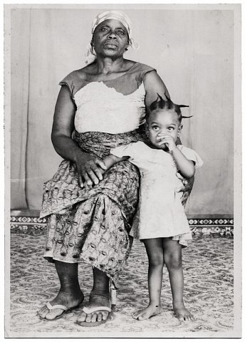 Photograph by Lema Mpeve Mervil of Studio Photo Less. Kinshasa, D.R.C., c. 1980.