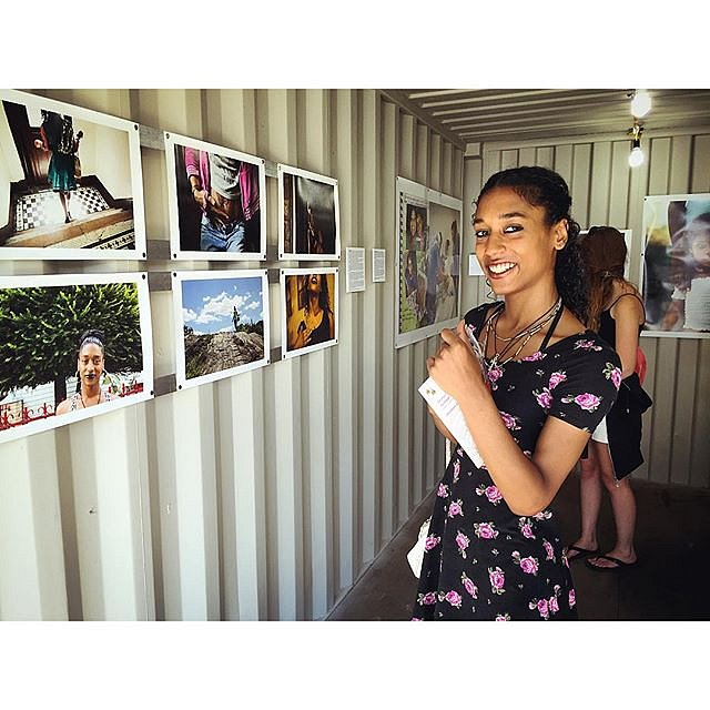 A look back @photovillenyc. I'm stoked Melanie got to see her pictures on the wall after months of working together on a series about her life. More of this series to come. #newyork #urban #ourcity #youth #transgender #documentary #usa