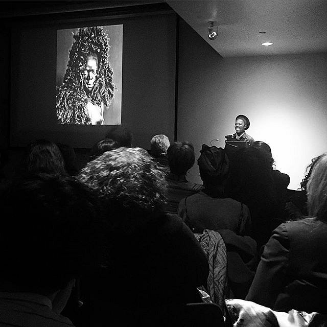 An evening with Zanele Muholi who's keepin' it real. #icp #southafrica #lgbtqi #visualactivism #photography #gratefulforher