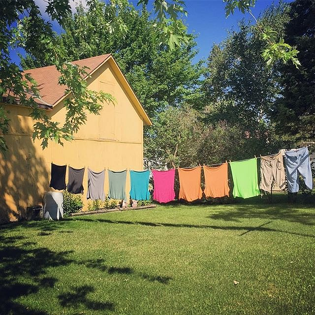 #minnesota #daytrip #midwest #family #clothesline #longprairie #itascabound