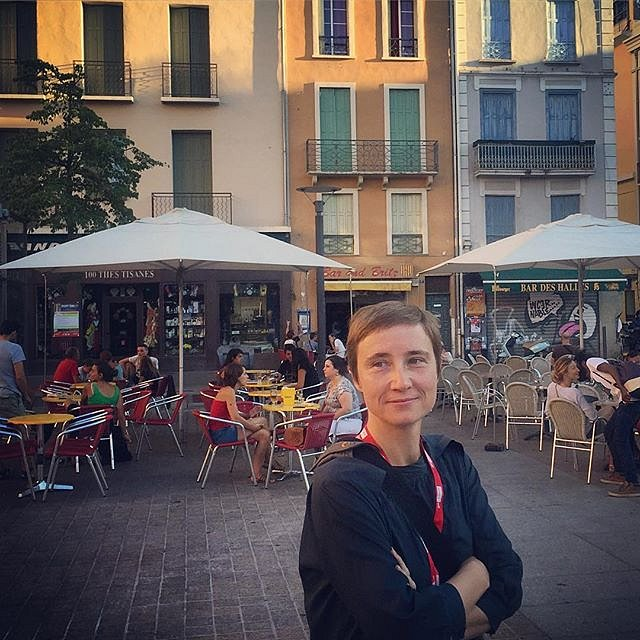 @jacobiadahm in Perpignan. #evening #france #photography #festival #visapourlimage