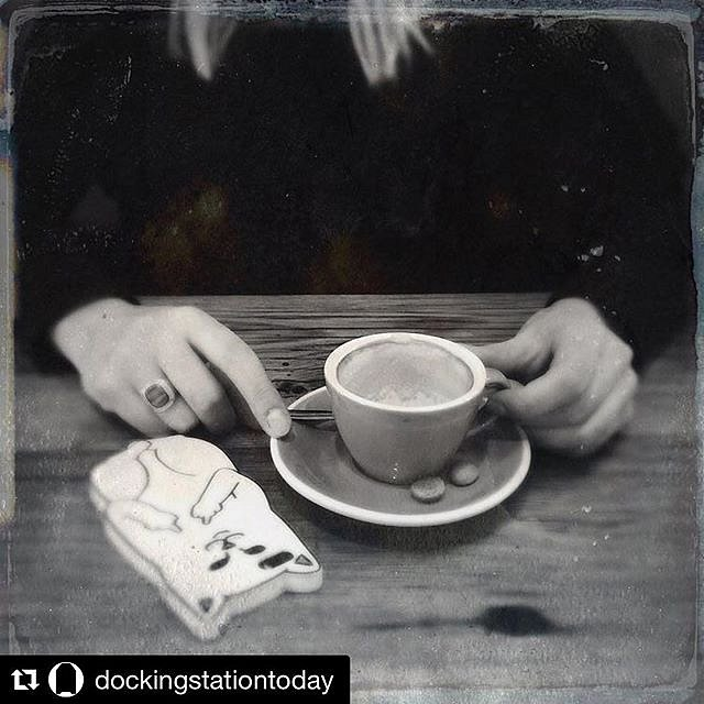 I'll be posting pics from my residency on the @dockingstationtoday IG. ・・・