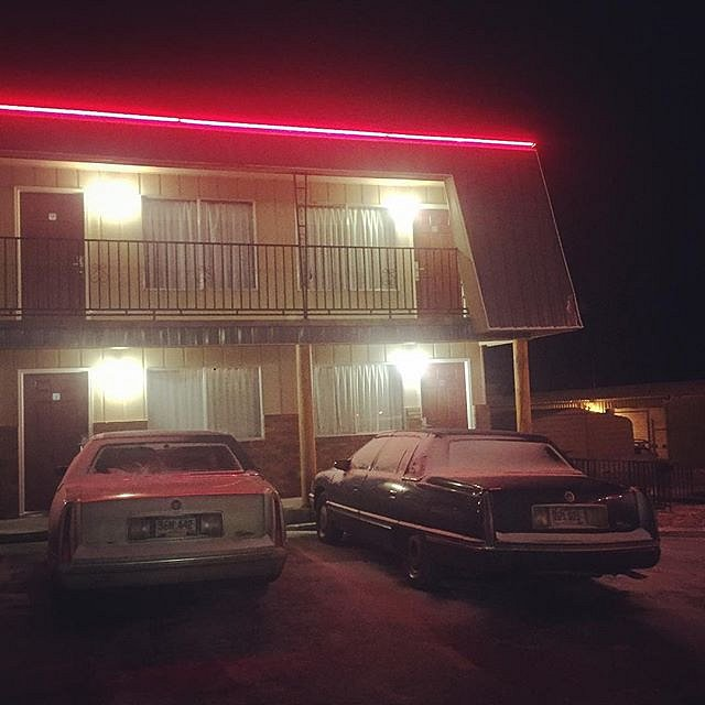 #hotel #badlands #southdakota #2caddies #family #peace