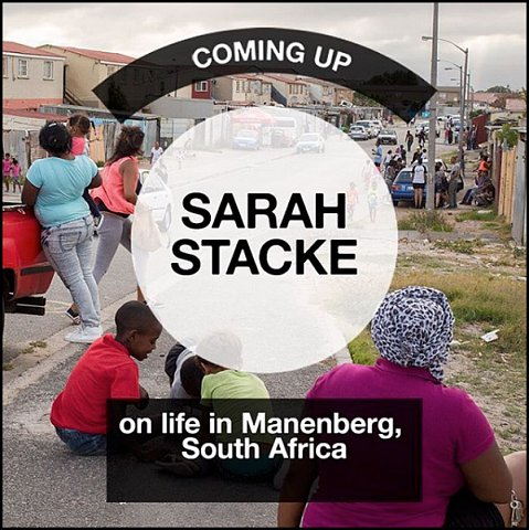 """on Life in Manenberg, South Africa"" <br>Photographs published February 1-7, 2016."