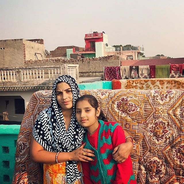 #india #rampurbangur #greaternoida #apnaschool #motherdaughter #onassignment