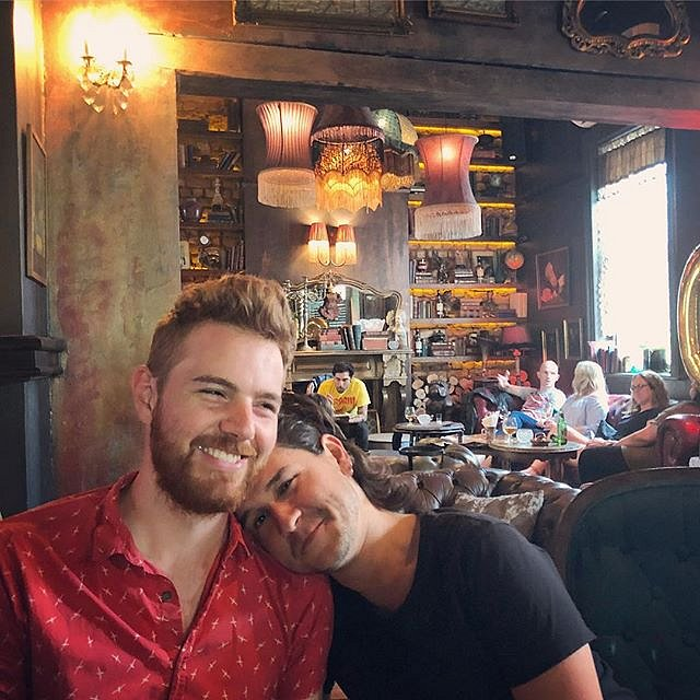 Spending the afternoon with these two is a stellar way to start this trip to Cape Town. @garethsmit & @ferosan #capetown #southafrica #saturdaycocktails #kloofstreethouse #nyctoct #photolife