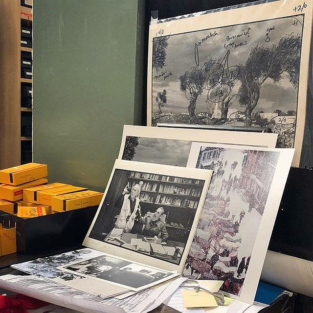 Burt Glinn's studio, where it's possible to catch a glimpse of almost every city, state and country on Earth. Here we go to Cuba, Japan and Israel. #photolife #easthampton #newyork #family #burtglinn #legends #familieswechoose