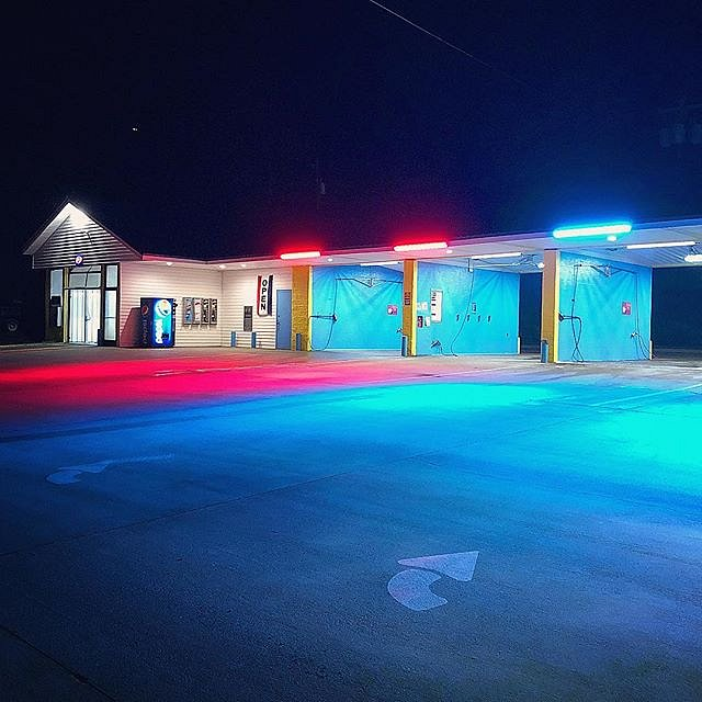 #cherokee #northcarolina #carwash #neon #forcedgeographies