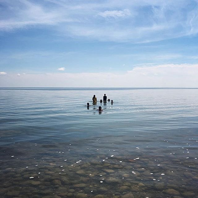 Swimming on the first day of summer in Red Lake on the Red Lake Indian Reservation in northern Minnesota. #swimming #summer #redlake #minnesota #forcedgeographies #ojibwe #redlakenation #ponemah