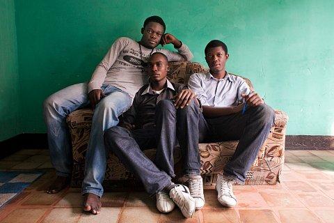 Brothers and Cousins. Kinshasa.