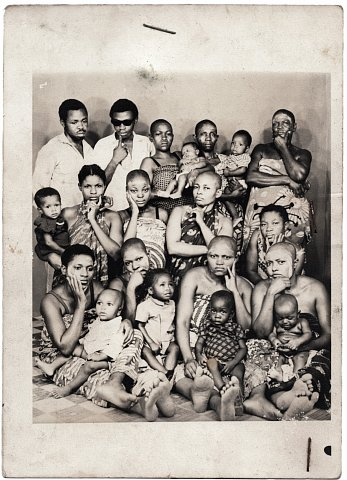 From a Nshindi family photo album. Photographer unknown. Kinshasa, D.R.C., c. 1975.