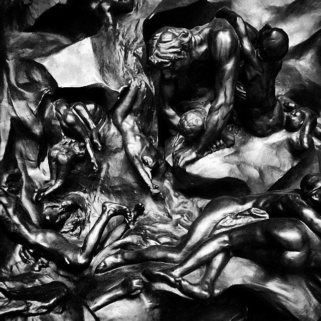 The Gates of Hell. #rodin #museum #philly #usa #family #weekend #laststop