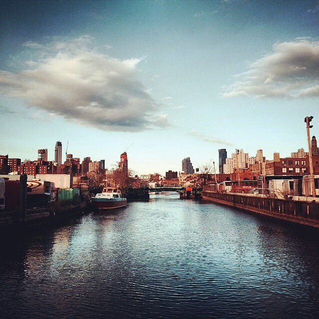 Crossing the Gowanus last night on my to Reel Works to share work and discuss how communities of color have used imagery as a tool of empowerment. #brooklyn #newyork #usa #gowanus #reelworks #documentary @reelworks
