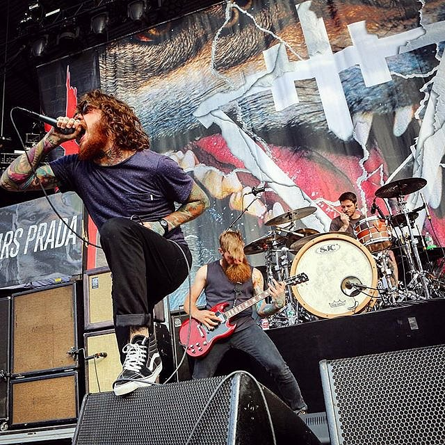 The Devil Wears Prada performs as part of the Mayhem Festival at Nikon at Jones Beach Theater in Wantagh on July 26, 2015. #mayhemfestival #onassignment #Liconcerts #summer #newyork #usa #rock