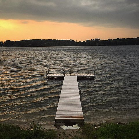#lastnight #saturday #minnesota #cottage #family #peace #summer #onthelake #usa