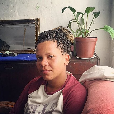 "Kaylynn Josephs, 25 years old, has always lived in the Cape Flats. She stays in Maneneberg now and says, ""Manenberg is an in between place, sometimes it's good, sometimes it's bad. If there wasn't gangsterism it would be really nice."" #lovefrommanenberg #manenberg #capetown #capeflats #southafrica #africa"