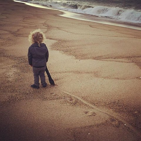 #latergram #errol #beach #family #peace #eastend #tracks #morning