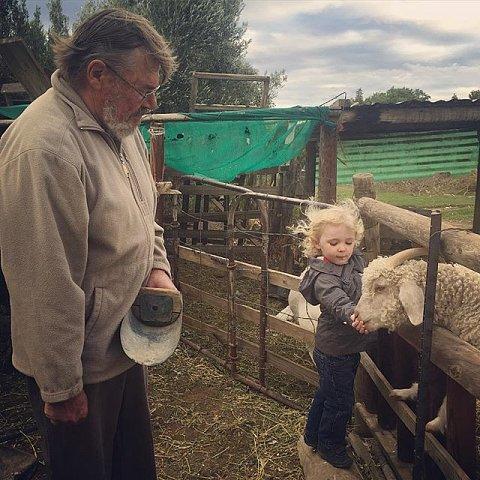 #princealbert #southafrica #karoo #friends #family #farm #goats #hairflying