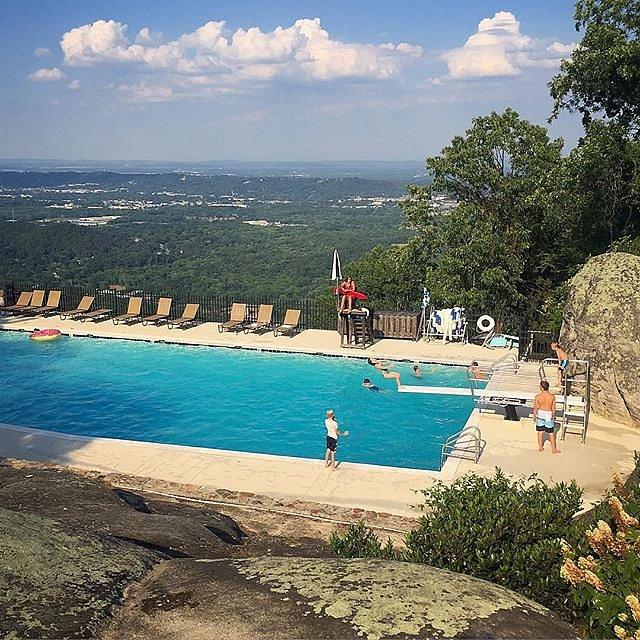 #chattanooga #lookoutmountain #pool