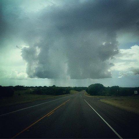 #itsrainingintexas #texas #rain #road #floods #lookingforcowboys #usa #valleymills #bosquecounty