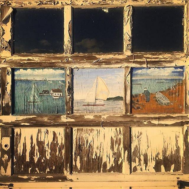 #garage #triptych #grandmarais #minnesota #errol #family #peace #art #lakesuperior