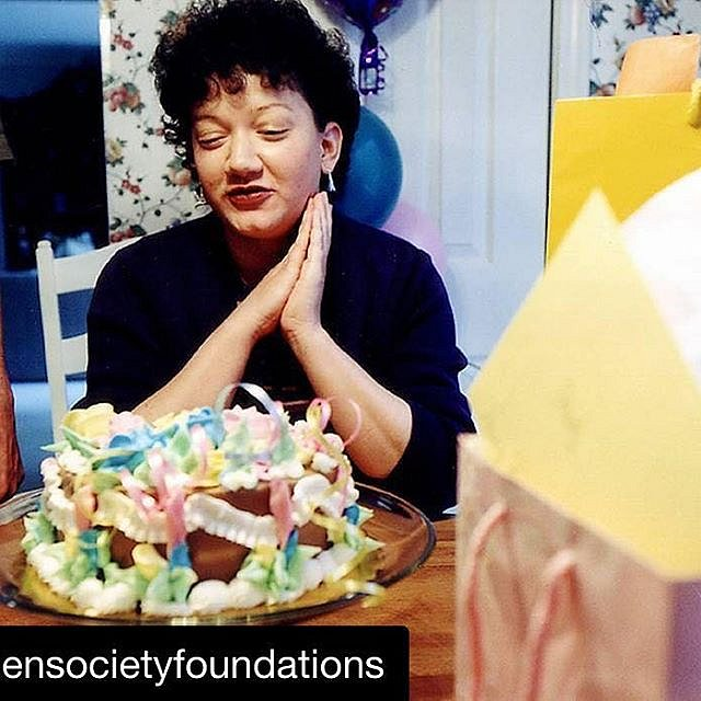 I'm so proud of and happy for @cordlejenny, who I had the pleasure of teaching @cdsduke. Jenny is sharing a beautiful and important story about her sister, Christy, on @opensocietyfoundations this week. Take a look. ・・・