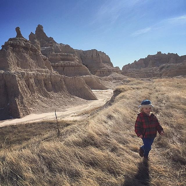 Until next time, #badlands! #southdakota #mostunderratedstate #family #peace