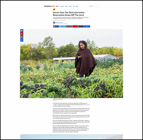"""""""Here's How the Red Lake Indian Reservation Dines off the Land"""" <br>Photographs and text published November 23, 2017. <br>  <a href=""""https://www.buzzfeed.com/gabrielsanchez/heres-how-the-red-lake-indian-reservation-dines-off-the-land?utm_term=.kmmzYqQb3X#.coZZ6lMJ7Q"""">View Article</a>"""