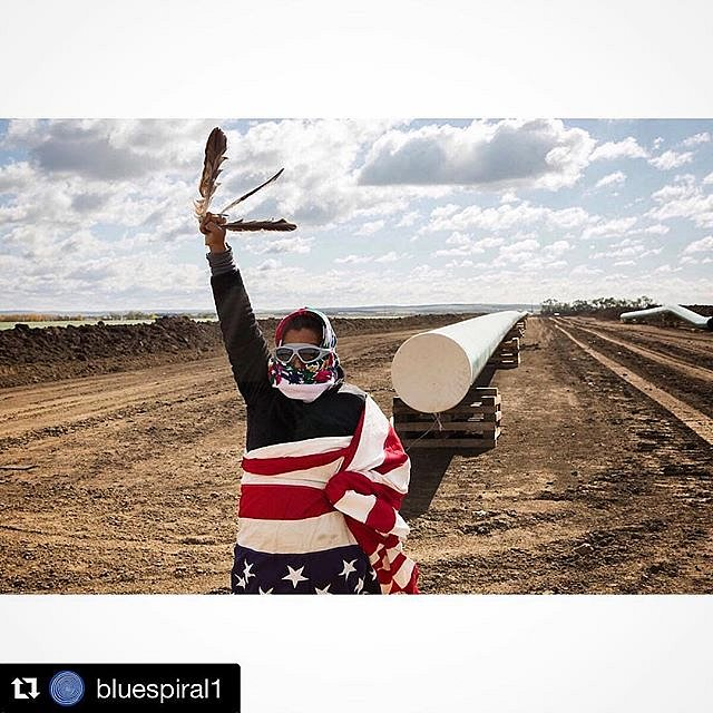 I can't wait to get to Asheville to see this exhibit at  @bluespiral1 that includes three of my photos from Standing Rock.