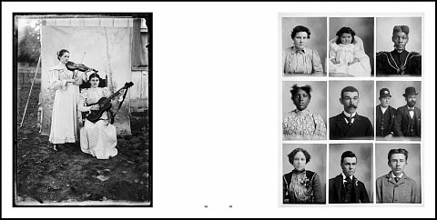 Photos Day or Night: The Archive of Hugh Mangum. The image on the left, from Mangum's family archive, is a available as a special edition print made from the original glass plate negative.