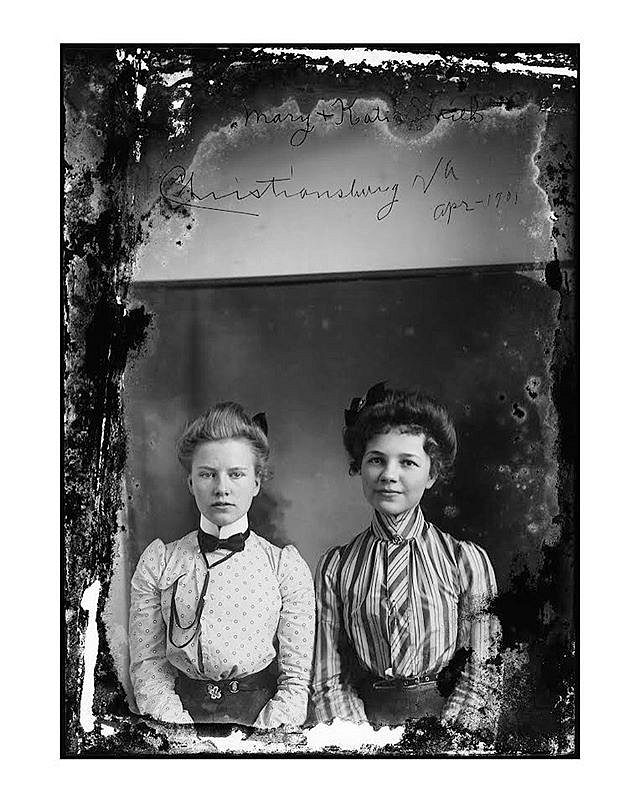 Something good in my inbox during these trying times. Sisters May (not Mary!) and Katie Smith were identified as family members of a Photos Day or Night reader. May, right, was a mother of four, a school teacher and a seamstress. After her husband died yo