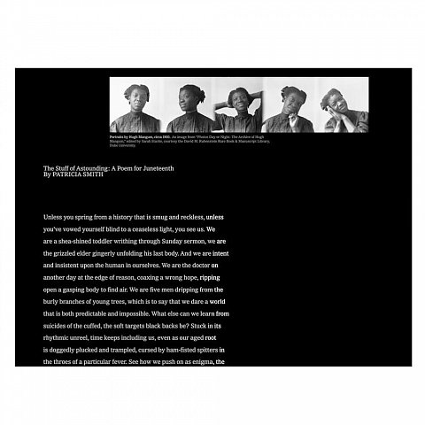 The New York Times <br>How We Juneteenth,