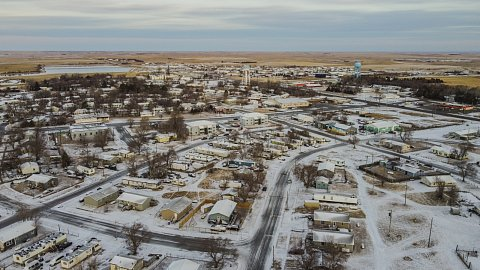 Eagle Butte is the largest city on the Cheyenne River Reservation, a sovereign Lakota Nation in the state of South Dakota. The city is home to tribal headquarters. Like the rest of the U.S., Cheyenne River has reached a Covid-19 vaccination plateau. But in Cheyenne River, the root cause of hesitancy is lingering mistrust of the U.S. government tied to the history of betrayal. March 11, 2021.